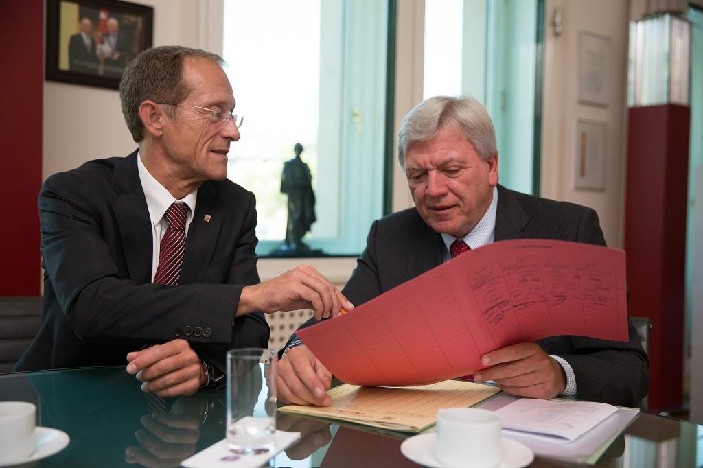 Wir verstehen uns. Wir vertrauen einander. Wir gestalten Politik für Hessen und das Rhein-Main-Gebiet.
